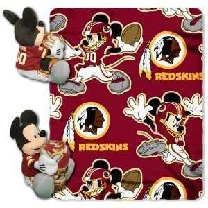Washington Redskins NFL 038 Mickey Hugger 50x40 Blanket