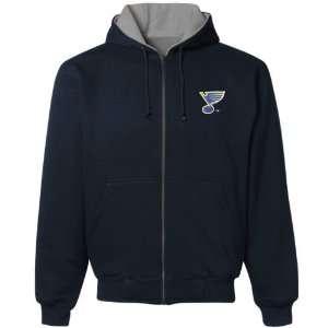 St Louis Blues Hoodie Sweatshirt  St. Louis Blues Navy Blue Craftsman
