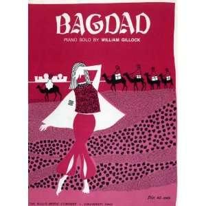 Bagdad (Piano Solo) (W. M. Co., 9812) composer William