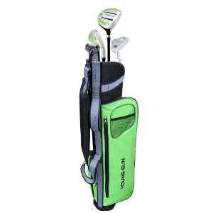 Young Gun EAGLE GREEN Junior golf club set & bag for kids Ages 12 14