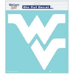 West Virginia Mountaineers 8 X 8 Die Cut Decal Sports