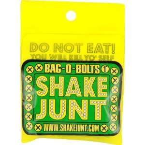 Shake Junt Bag O Bolts All Green & Yellow 1 Phillips 1