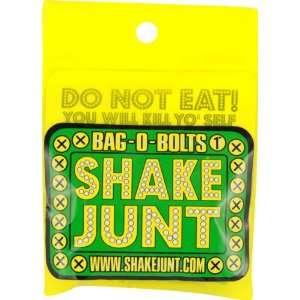 Shake Junt Bag O Bolts All Green & Yellow 1 Phillips 1