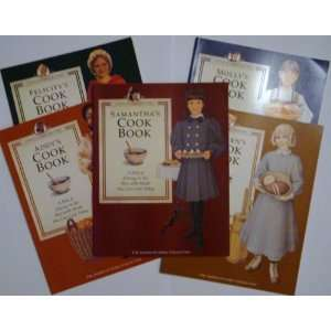 American Girls Pastimes Cookbook Set (American Girls Pastimes