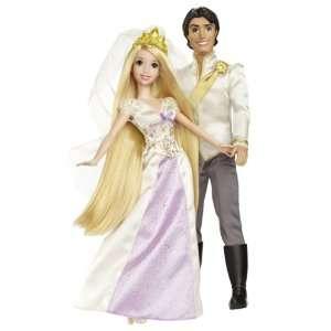 Disney Princess Rapunzel and Flynn Wedding Doll Gift Set Toys & Games