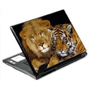 Lion and The Tiger Decorative Protector Skin Decal Sticker for 17 inch