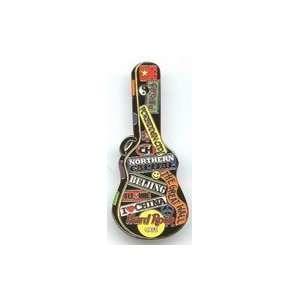 Hard Rock Cafe Pin 30017 Beijing 2005 Guitar Case Series