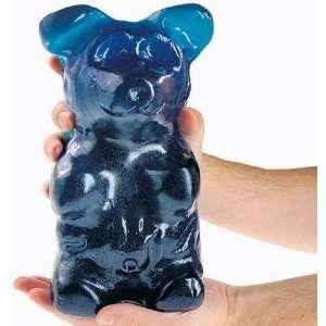 Worlds Largest Gummi Bear   Blue Raspberry 5 LBS