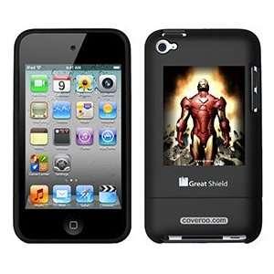 Iron Man Breaking on iPod Touch 4g Greatshield Case