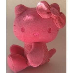 Hello Kitty Pink Bean Bag Plush 4 1/2