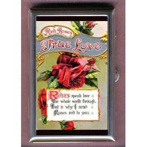 ROSE TRUE LOVE Coin, Mint or Pill Box Made in USA
