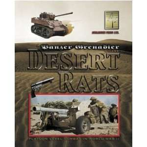 Panzer Grenadier Desert Rats Toys & Games