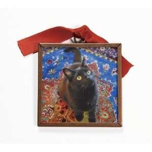 The Black Cat Cat Magnet