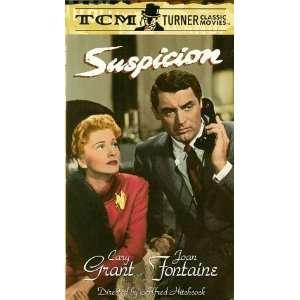 Suspicion [VHS]: Joan Fontaine, Cary Grant, Sir Cedric