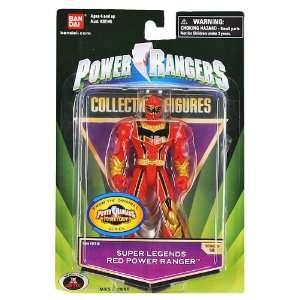 Power Ranger Super Legends Series 18 Red Power Ranger Toys & Games