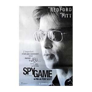 SPY GAME (BRAD PITT   FRENCH ROLLED) Movie Poster