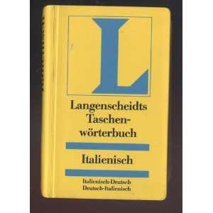 (Langenscheidt) (9783468111815) Prof. Dr. Vladimiro Macchi Books