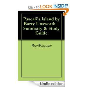 Pascalis Island by Barry Unsworth | Summary & Study Guide BookRags