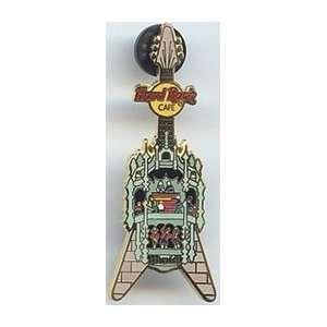 Hard Rock Cafe Pin 14308 Munich Glockenspiel Guitar