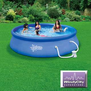 Summer Escapes 12 X 33 Quick Set Swimming Pool with 580 GPH Filter