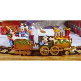 Disney Mickey & Friends Around The Tree 17 Piece Christmas Train Set