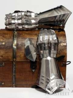 MEDIEVAL ARMOR GLOVES GAUNTLETS GOTHIC SCA