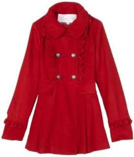Jessica Simpson Girls 7 16 Alicia Coat: Clothing