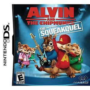 and the Chipmunks  The Squeakquel Video Game   Nintendo DS at HSN