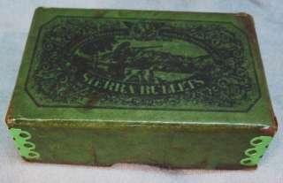 1947 SIERRA .270 CAL AMMO BULLET BOX~HUNTER~HUNTING DOG