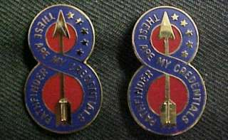 8th Infantry Division Distinctive Unit Insignia THESE ARE MY