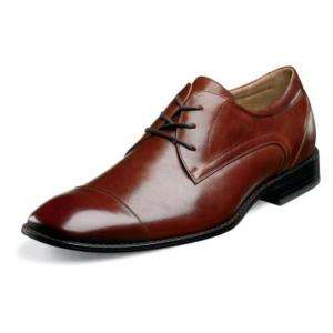 Stacy Adams Welling Mens Dress Shoes Brown 24605 7 14
