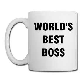 WORLD BEST BOSS The Office Coffee Mug  MOVIE COSTUMES UK: PLUMTREE
