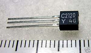 200 pcs NPN Power Transistor 2SC2120 C2120 TO 92MOD