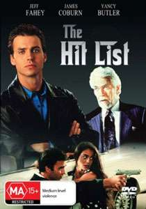 Jeff Fahey James Coburn Yancy Butler THE HIT LIST DVD