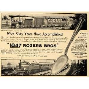 1907 Ad 1847 Rogers Bros Silver Plate Silverware Design