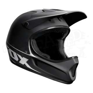 NEW Fox Racing Rampage DH MTB Full Face Bicycle Helmet   Matte Black