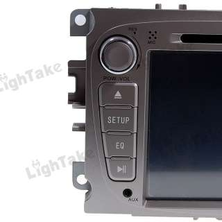 CAR DVD Player GPS TV radio for FORD MONDEO Silver