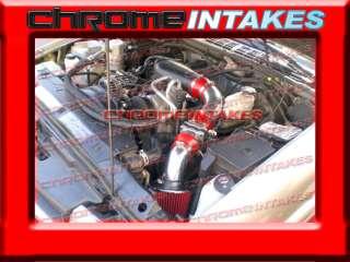 10/ZR2/ZR5/BLAZER/SONOMA/JIMMY 4.3 4.3L V6 COLD AIR INTAKE RED