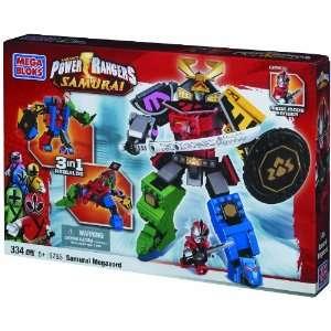 Mega Bloks Power Ranger Samurai MegaZord Toys & Games