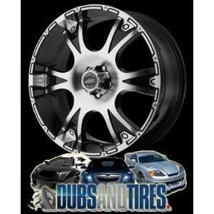 AMERICAN RACING PERFORM wheels DAGGER Gloss Black Machined wheels rims