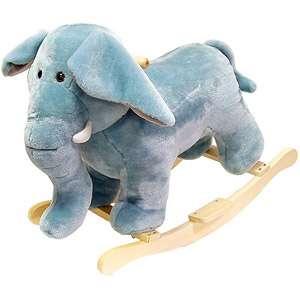 com Happy rails Plush Rocking Animal, Elephan Bikes & Riding oys