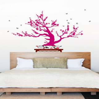 Bonsai Tree Self Adhesive WALL STICKER Removable Decal