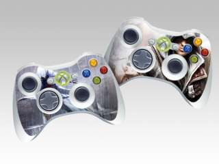 Assassins Creed II Sticker Skin For XBOX 360 Controller