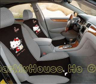 Hello Kitty Thick Car Seat Cover Set 10 pcs KT02