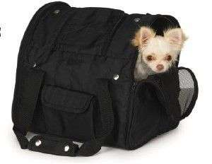 Casual Canine Backpack Pet Dog Carrier BLK UP TO 10 LB