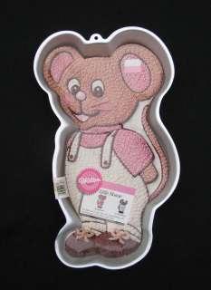 Wilton LITTLE MOUSE Cake Pan, 1987, #2105 2380 Retired |