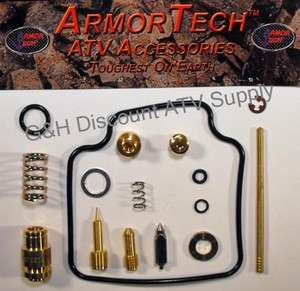 90 96 Suzuki LTF 250 Quadrunner Carb Carburetor Kit