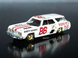 1973 CHEVY CAPRICE WAGON DEMOLITION DERBY CAR MINT 1/64