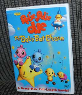 Kids DVD Video Movie Rolie Polie Olie The Baby Bot Chase Playhouse