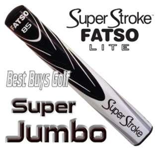 Super Stroke Fatso 85 Lite Splash White Black Super Jumbo Putter Grip